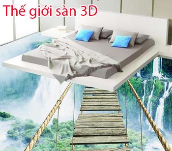 The gioi san 3d